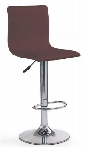 Barová židle H-21 - hnědá