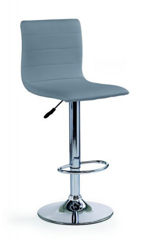 Barová židle H-21 - šedá