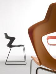 Konferenční židle 2160/S PC Aoki - nečalouněná