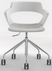 Konferenční židle Aoki ALU 2160 TC - čalouněný pouze sedák