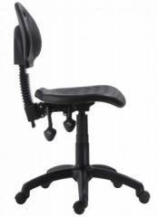 Pracovní židle 1290 PU ASYN - báze plast + kolečka