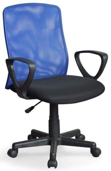 Halmar Kancelářská židle Alex Modro-černá