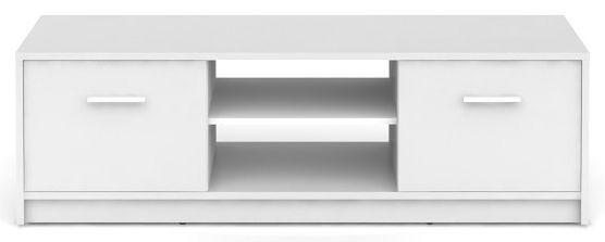 Televizní stolek Nepo RTV2D - bílý