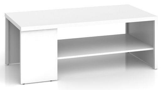 Konferenční stolek Nepo LAW/120 - bílý