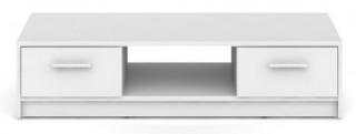 Televizní stolek Nepo RTV2S - bílý