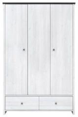 Skříň Porto SZF3D2S - modřín sibiu světlý
