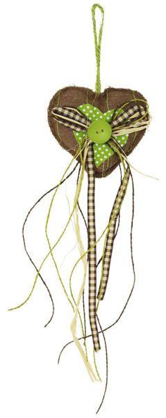 Textilní srdíčko VAS700850