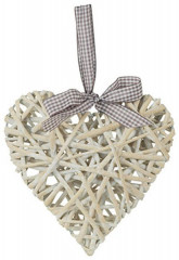 Srdce AN126 - bílé