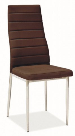 Jídlení židle H-261 hnědá
