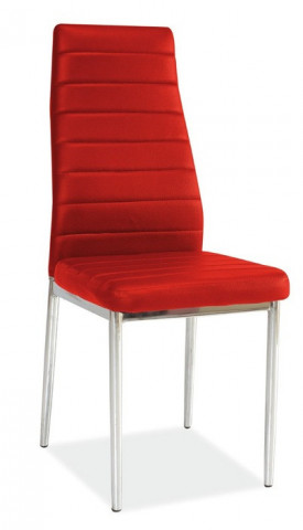 Jídlení židle H-261 červená