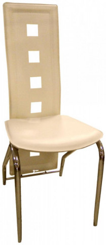Jídelní židle F-131 bílá káva
