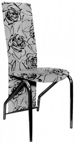 Jídelní židle F-131 šedo-černá