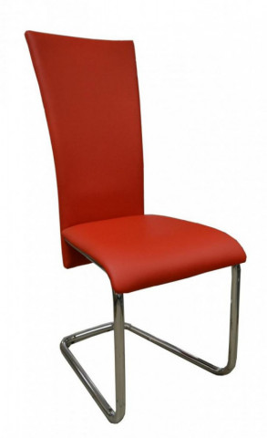 Jídelní židle FA-245 červená
