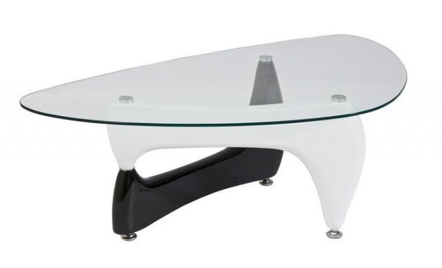 Konferenční stolek SV007 bílo-černá