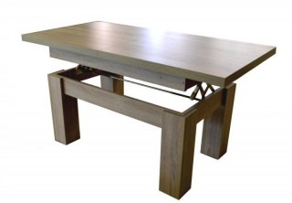 Konferenční stolek Rio tmavý dub