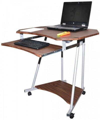 PC stolek 2612 tmavý ořech