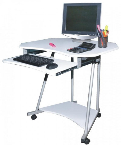 PC stolek 2612 bílý