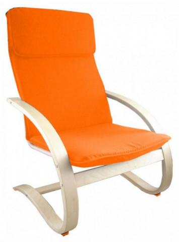 Relaxační křeslo oranžové