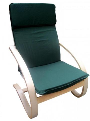 Relaxační křeslo zelené