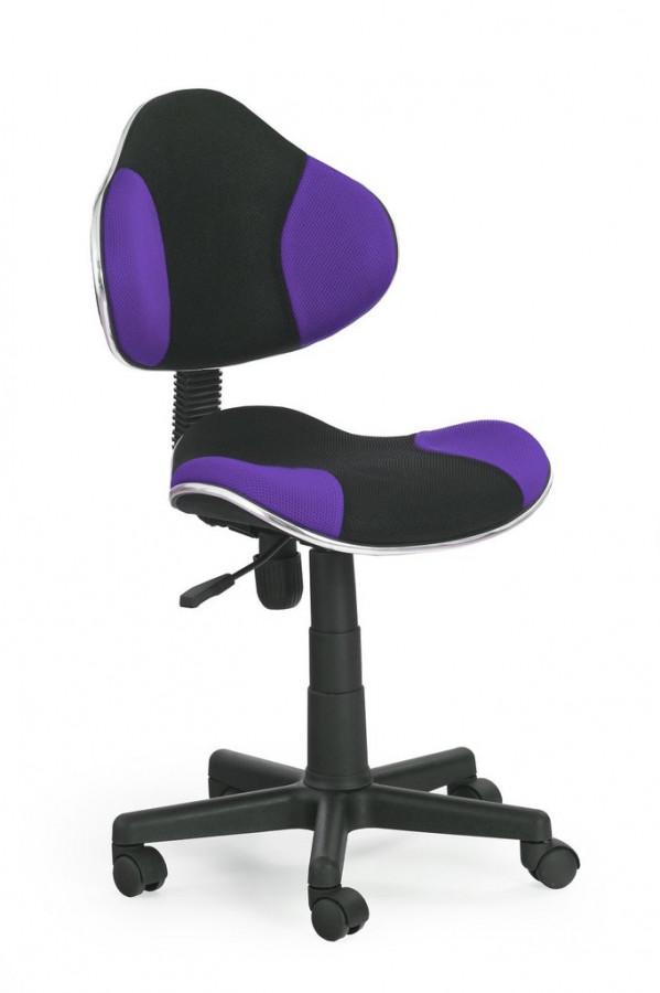 Falco Židle QZY-G2 černo-fialová