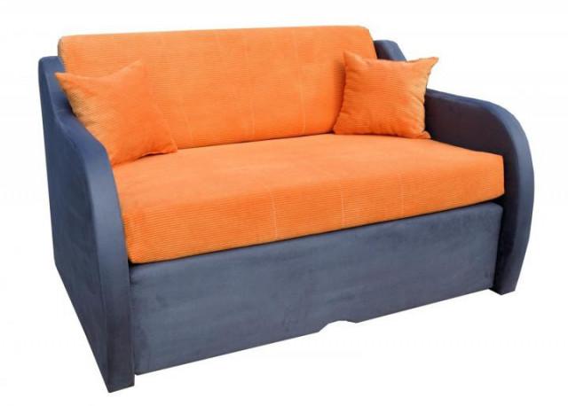 Pohovka Zuzana oranžová