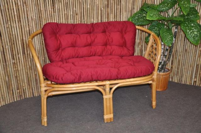 Ratanová lavice Bahama - medová