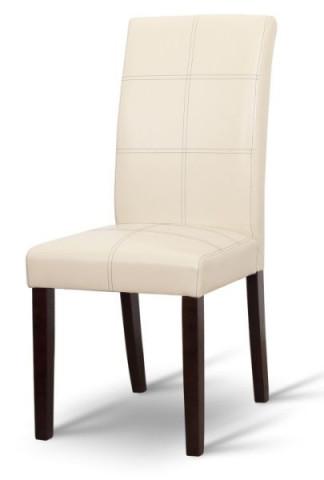 Jídelní židle RORY - krémová