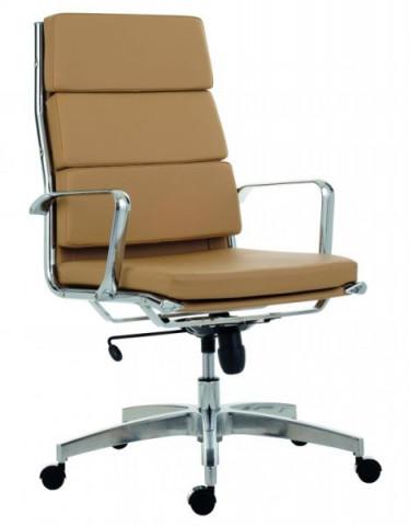 Kancelářská židle 8800 Kase soft - vysoká záda