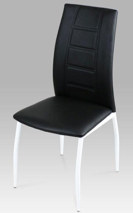 Autronic Jídelní židle AC-1195 Béžová koženka