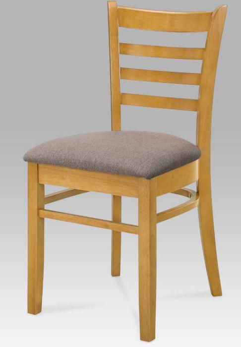Autronic Jídelní židle LEON OAK - dub