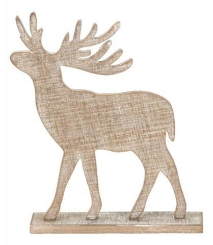 Dřevěný sob SHA627553