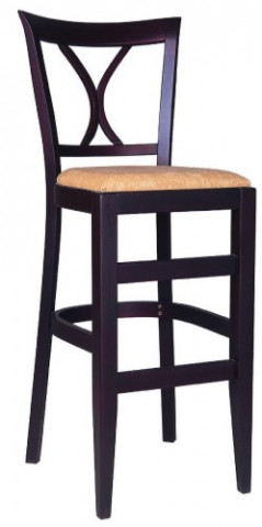 Barová dřevěná židle 311 907 Alicante - Ilustrační fotografie