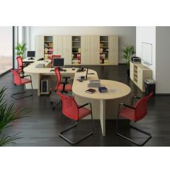 Zasedací stůl TEMPO ASISTENT NEW 020ZA - dub sonoma