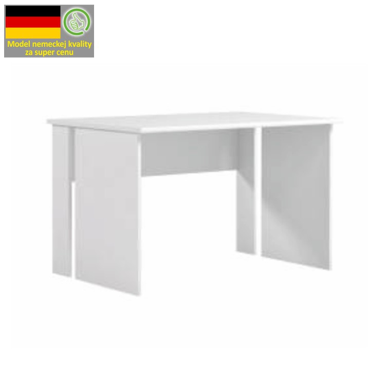 PC stůl BEK 08, bílá
