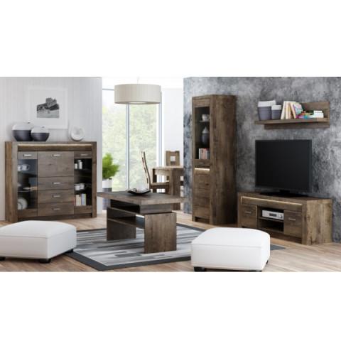 Televizní stolek INFINITY 09 jasan tmavý