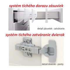 Kuchyňská skříňka LINE SONOMA D80 ZL