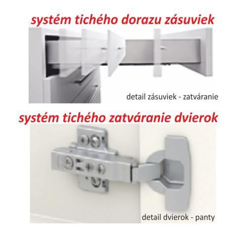 Kuchyňská linka LINE - dub sonoma