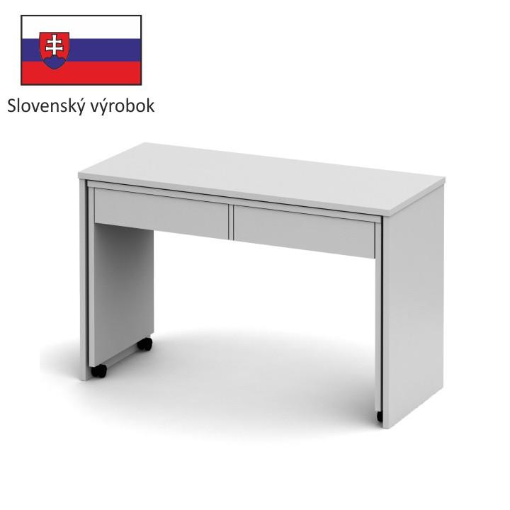 Tempo Kondela PC stůl VERSAL NEW - bílý + kupón KONDELA10 na okamžitou slevu 3% (kupón uplatníte v košíku)