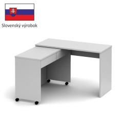 PC stůl VERSAL NEW - bílý