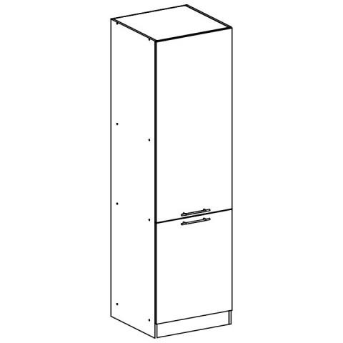 Potravinová skříňka, bílá, FABIANA S - 60/210