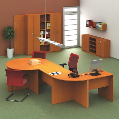 Psací stůl TEMPO ASISTENT NEW 023 - třešeň