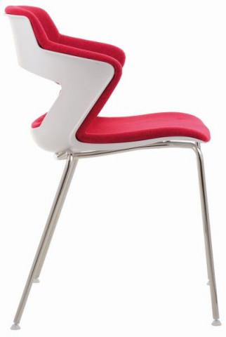 Konferenční židle 2160 TC Aoki - čalouněný sedák + opěrák + korpus - Ilustrační fotografie