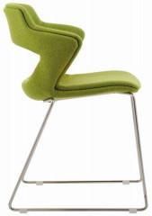 Konferenční židle 2160/S TC Aoki - čalouněný sedák + opěrák + korpus