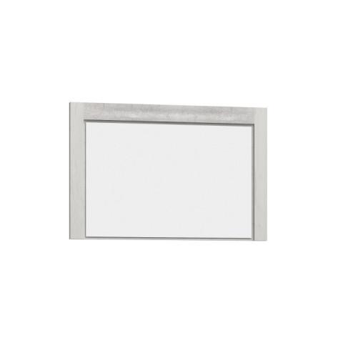 Zrcadlo INFINITY 12 jasan bílý