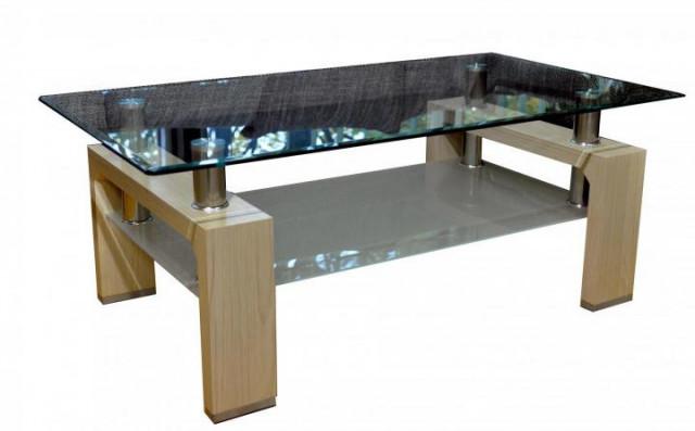 Konferenční stolek A 08-3 sonoma světlá