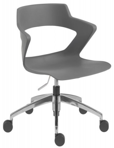 Konferenční židle 2160 PC Aoki ALU - nečalouněná