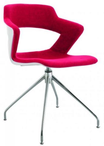 Konferenční židle 2160 TC Aoki style - čalouněný sedák + opěrák