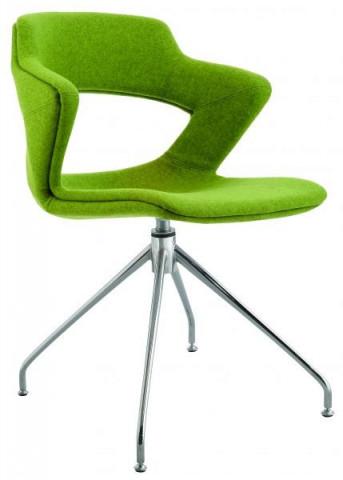 Konferenční židle 2160 TC Aoki style - čalouněný sedák + opěrák + korpus