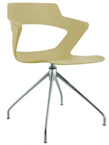 Konferenční židle 2160 PC Aoki style - nečalouněná