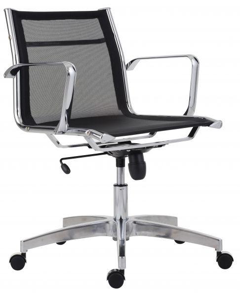 Antares Kancelářská židle 8850 Kase mesh - nízká záda Černá síť